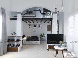 thiết kế thi công nhà trọ căn hộ mini cho thuê